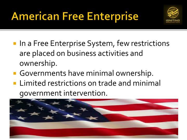 American free e nterprise