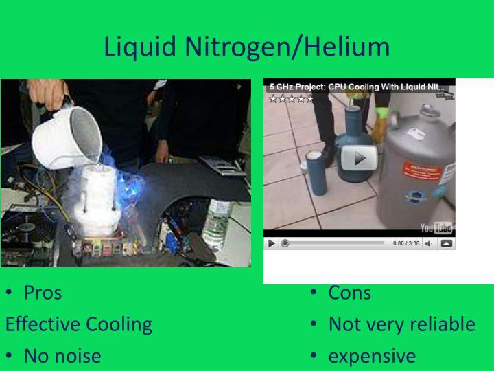 Liquid Nitrogen/Helium