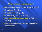what about compounds1