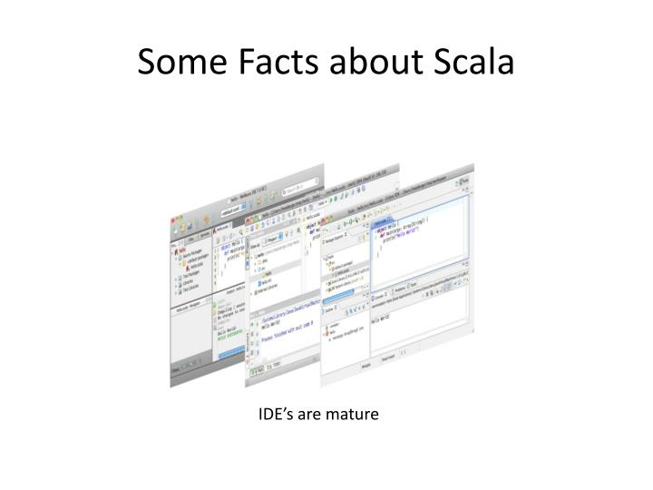 Some Facts about