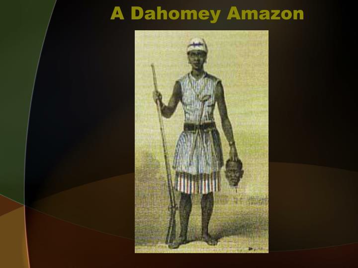 A Dahomey Amazon