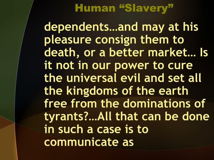 Human slavery1