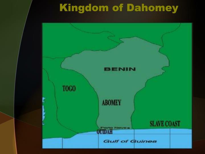 Kingdom of Dahomey