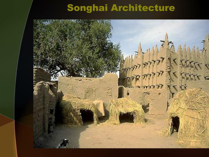 Songhai Architecture