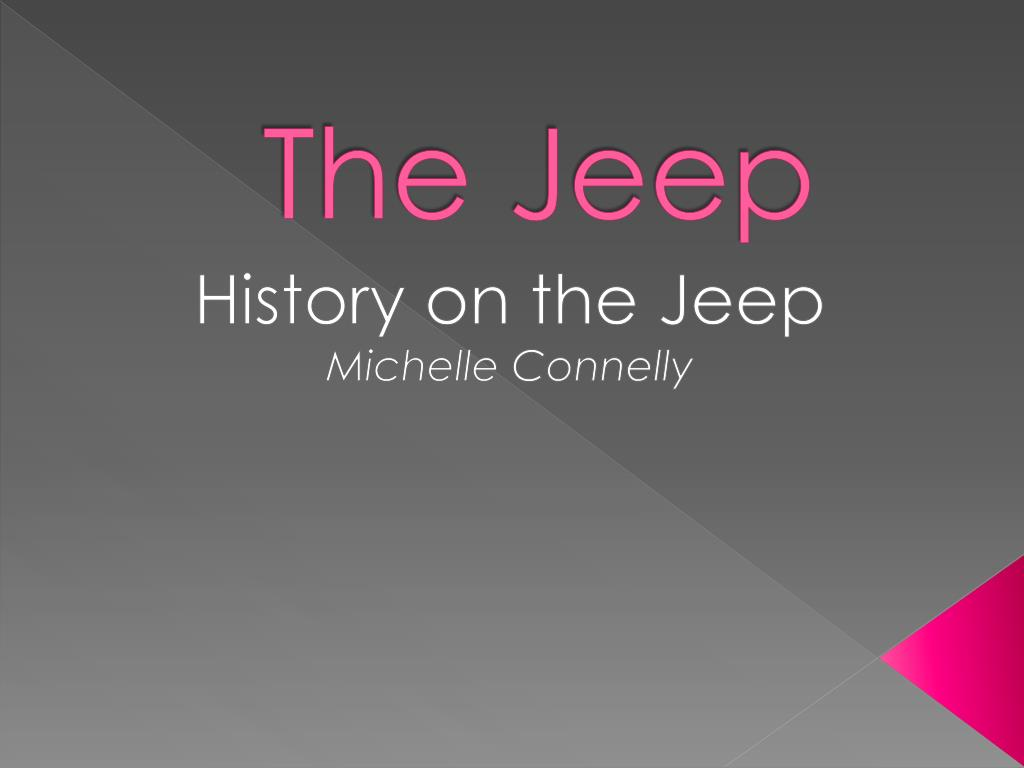 Ppt The Jeep Powerpoint Presentation Free Download Id 1837481