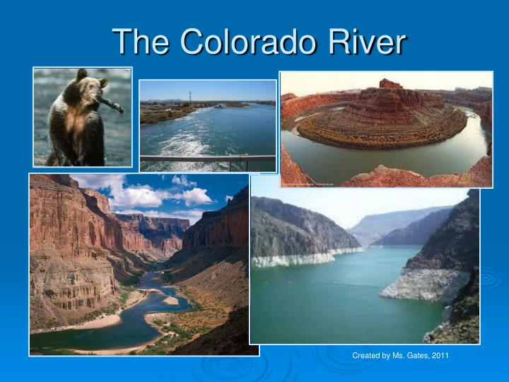 a brief look at the colorado river project A project in ras refers to all of the data sets associated with a particular river system to define a new project to the colorado river look like, select.