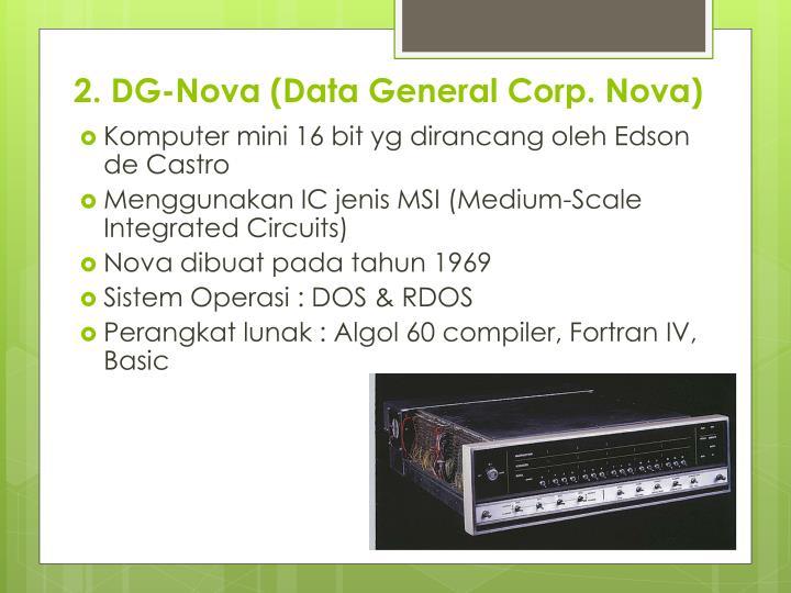 2. DG-Nova (Data General Corp. Nova)