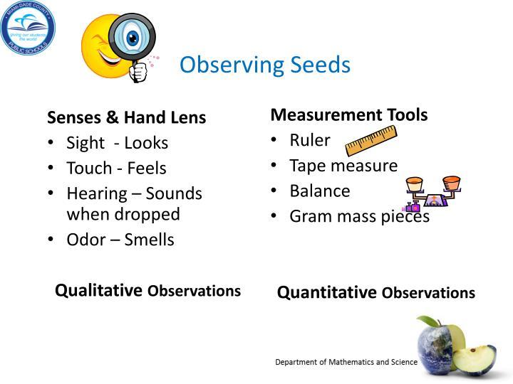 Senses & Hand Lens
