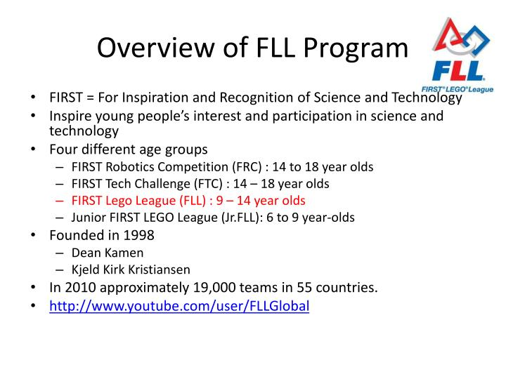 Overview of fll program