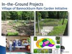 in the ground projects