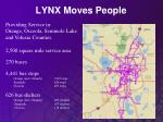lynx moves people