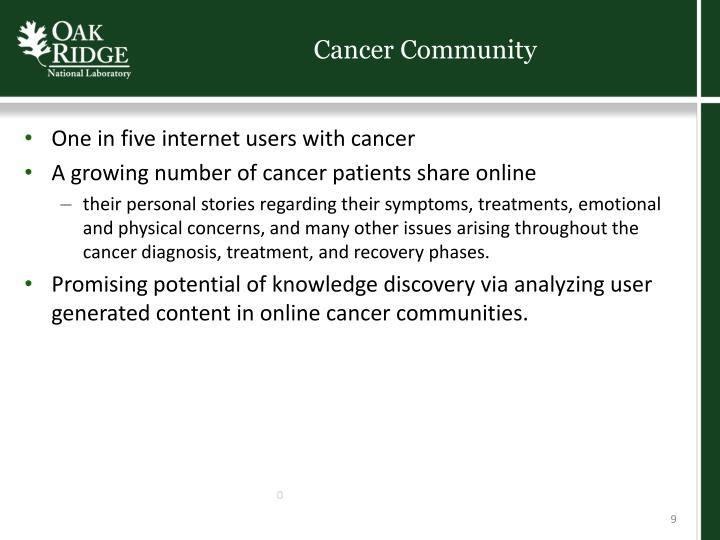 Cancer Community