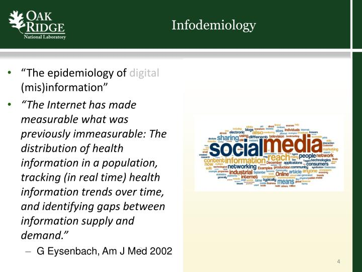 Infodemiology