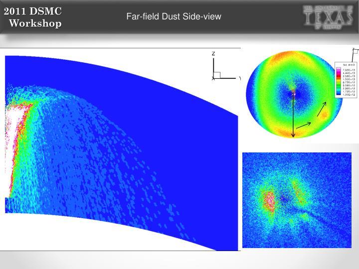 Far-field Dust Side-view