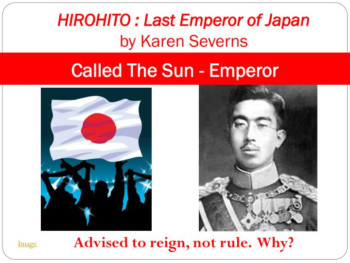 a biography of hirohito the 124th emperor of japan Emperor of japan are important aspects of hirohito life browsebiography biography by letter :  hirohito was the 124th emperor of japan.