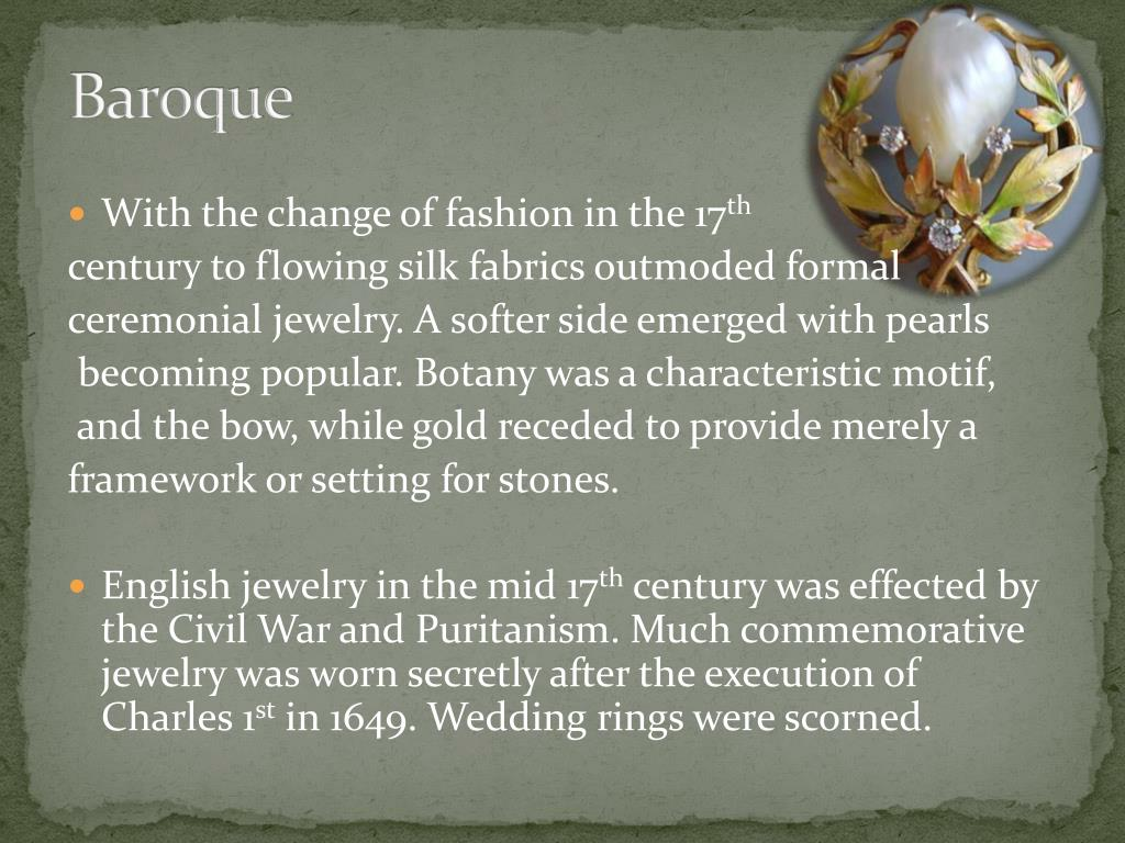PPT - Jewelry Making: A brief history PowerPoint
