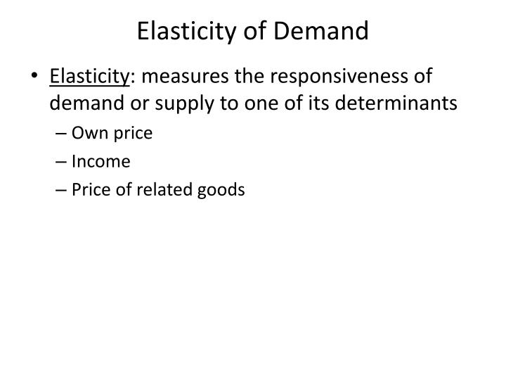 income elasticity of demand essay Secondly, income elasticity of demand measures the responsiveness of the demand for a good to a change in income, ceteris paribus positive income elasticity of.