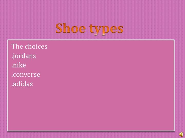 Favorite shoes1