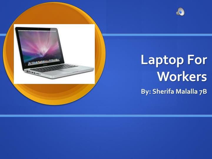 Laptop For Workers