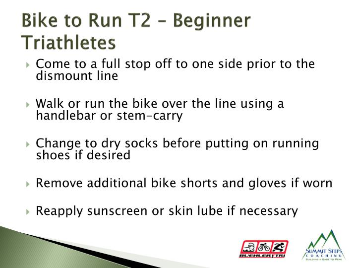 Bike to Run T2 – Beginner Triathletes