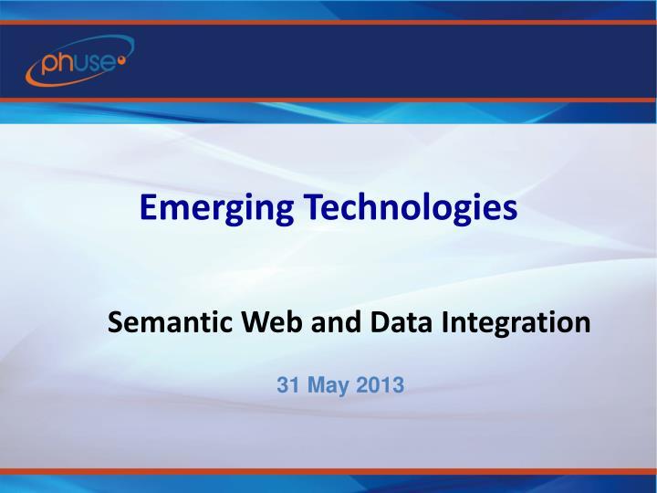Emerging technologies1