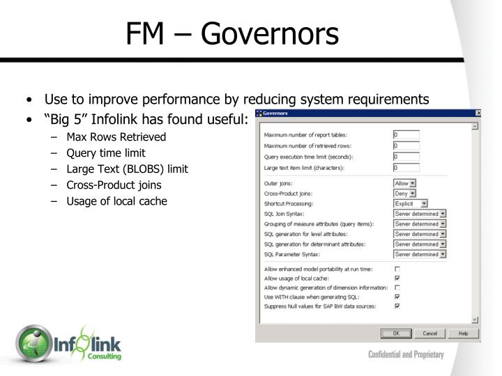 FM – Governors