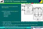 step fb translator module