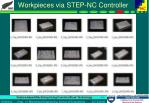workpieces via step nc controller