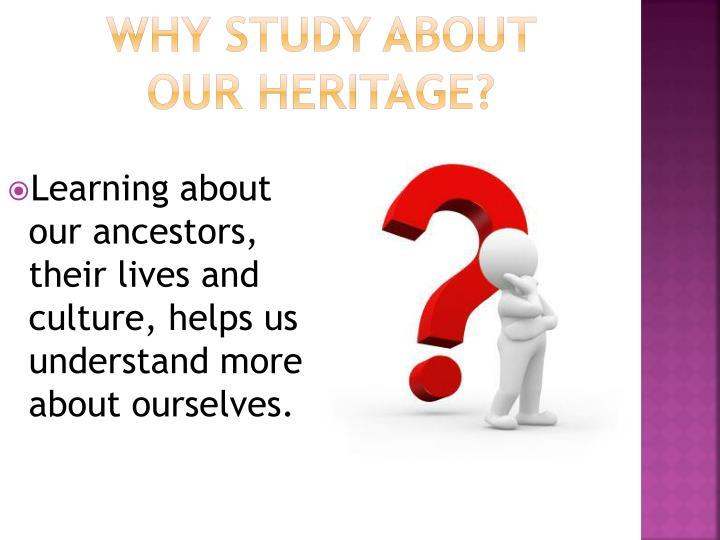 Why study about