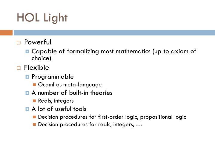 HOL Light