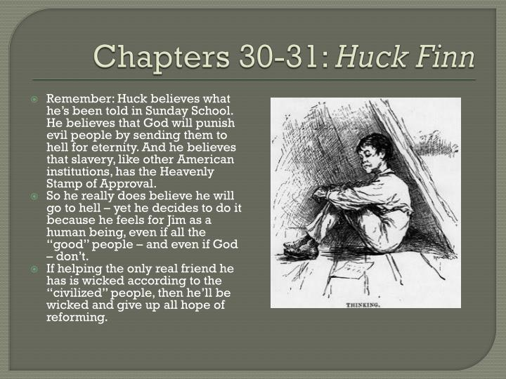 huck finn essay really bad Free essay: the use of satire in the adventures of huckleberry finn in his novel the adventures of huckleberry finn, published in 1884, mark twain uses.