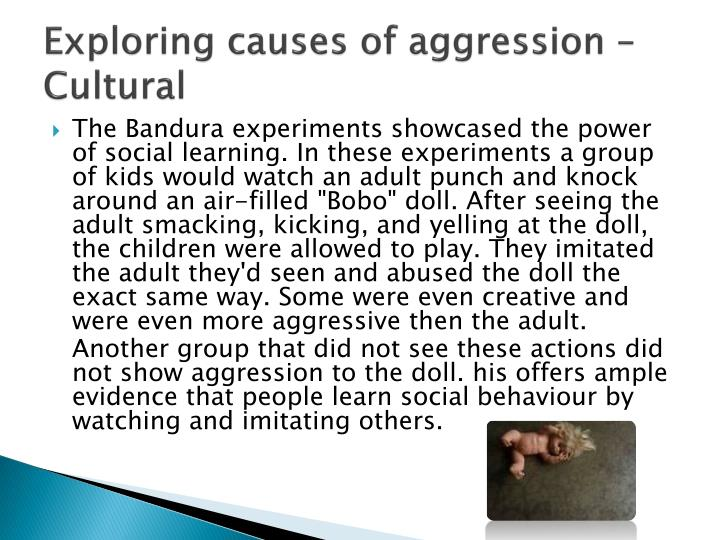 does violance on television cause aggressive Does exposure to violent movies or video games make kids more aggressive although experts agree that no single factor can cause a nonviolent person to act aggressively, some studies (though.