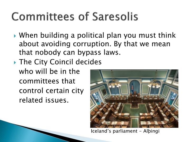 Committees of Saresolis