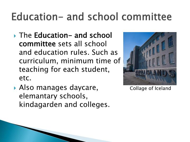 Education- and school committee