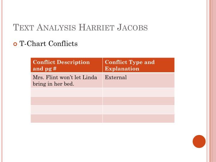 Text Analysis Harriet Jacobs