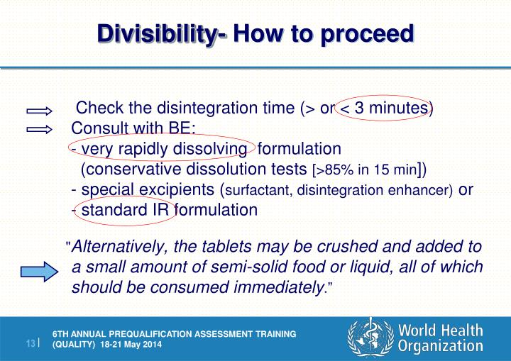 Divisibility-
