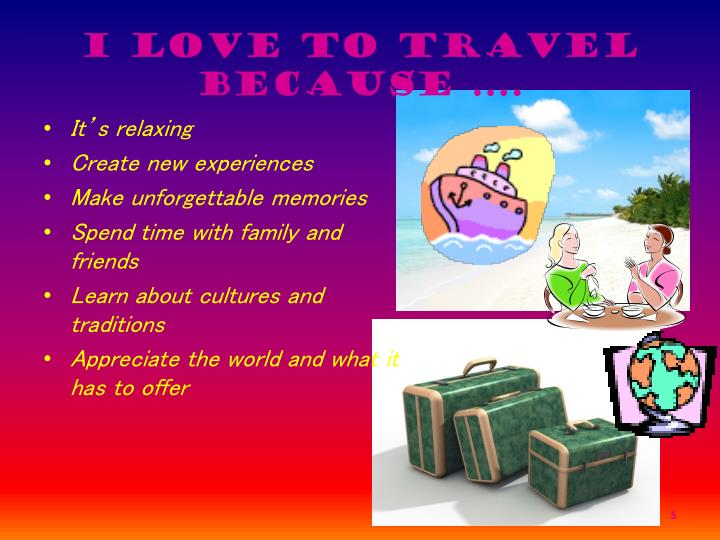travelling as a hobby