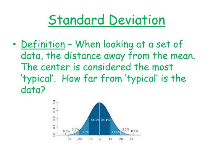 Ppt Standard Deviation And Z Score Powerpoint Presentation Id