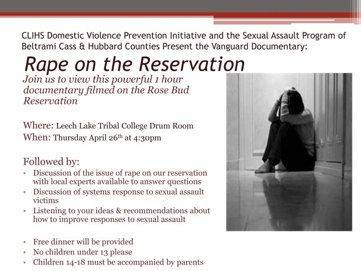 CLIHS Domestic Violence Prevention Initiative and the Sexual Assault Program of Beltrami Cass & Hubb...