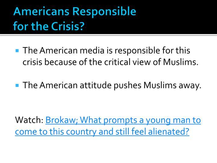 Americans Responsible