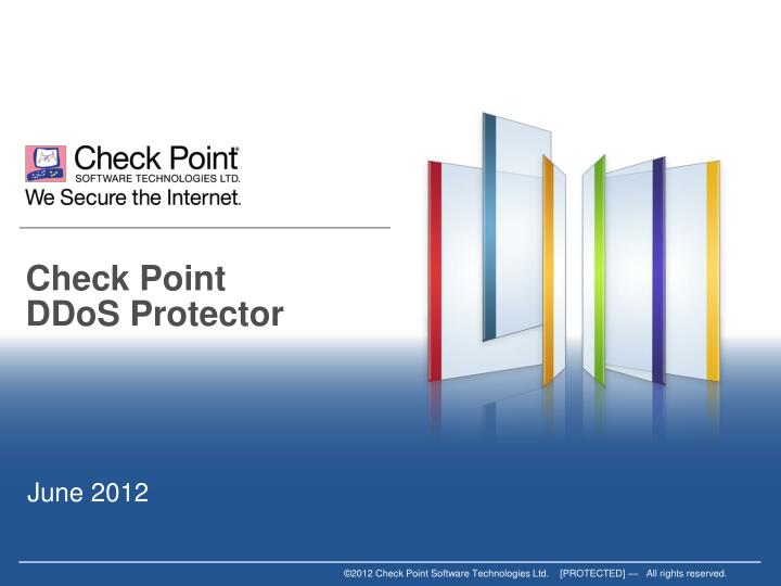 Check point ddos protector