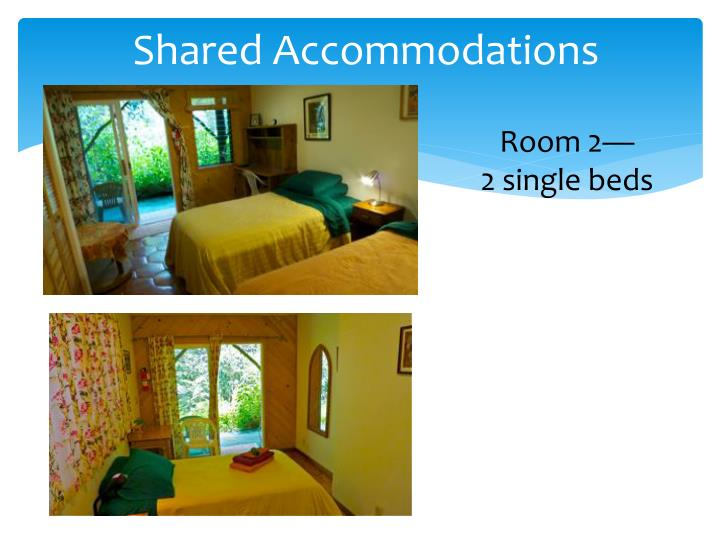 Shared Accommodations