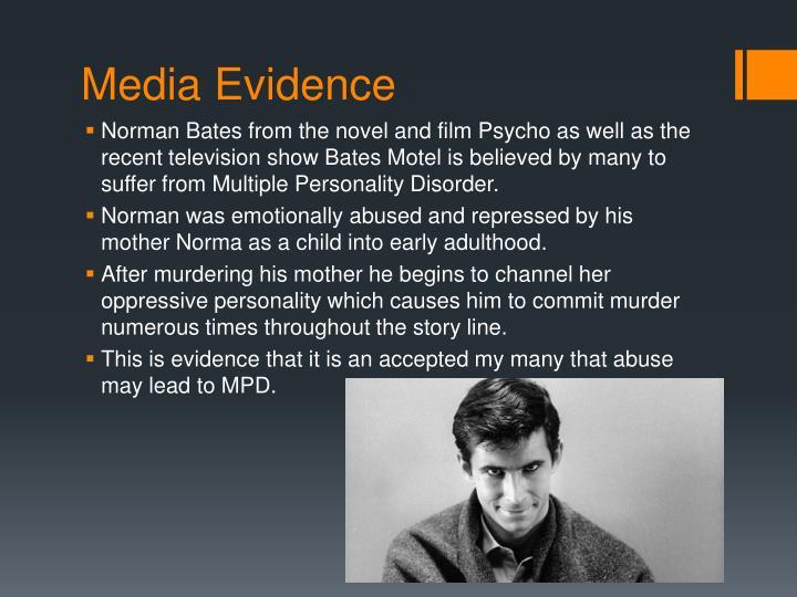 Media Evidence
