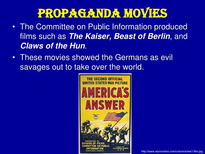 Propaganda Movies