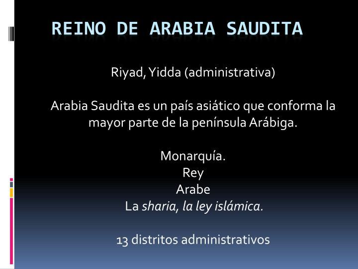 Reino de arabia saudita