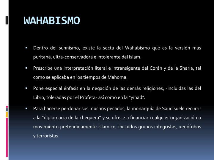 WAHABISMO