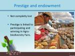 prestige and endowment1
