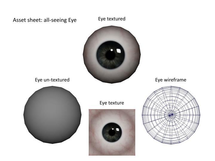 Asset sheet: all-seeing Eye