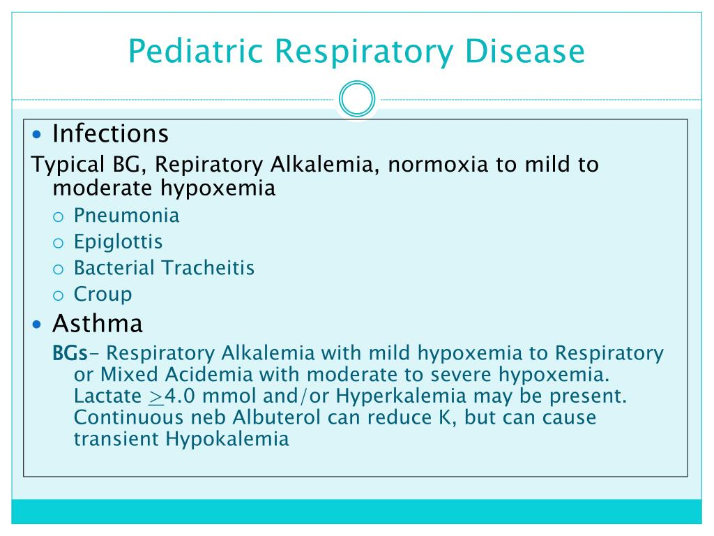 PPT - Neonatal & Pediatric Blood Gases PowerPoint ...