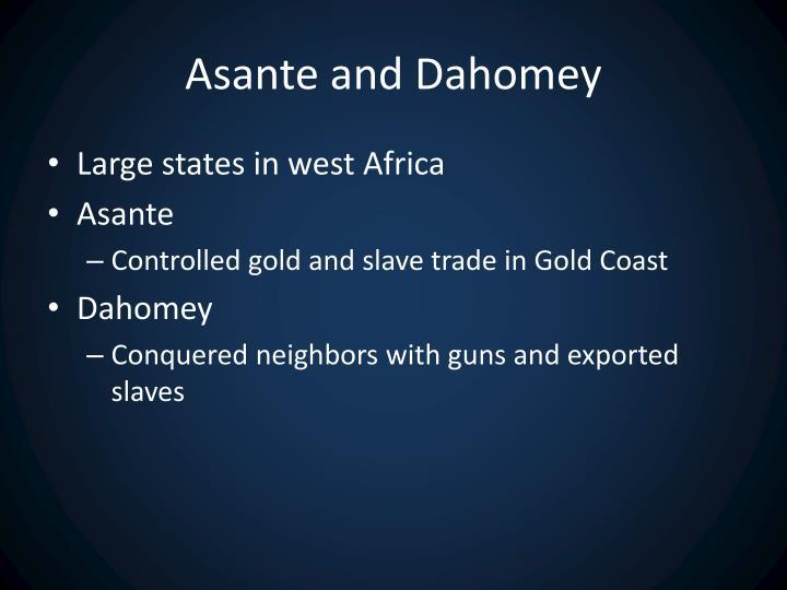 Asante and